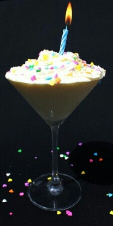 Birthday cake martini Boooz Pinterest Birthday cake martini