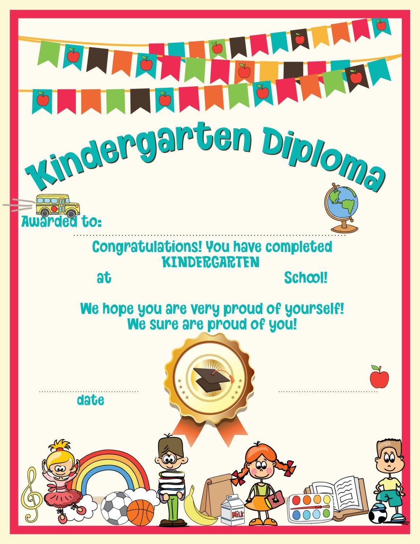 Kindergarten Graduation Instant Download Printable