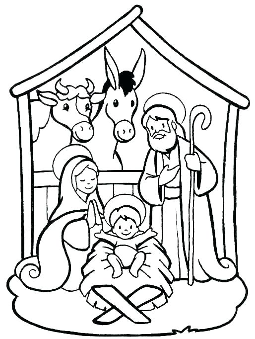 Christmas Nativity Coloring Pages Printable Nativity Coloring Pages Printable Nativity Color Nativity Coloring Pages Nativity Coloring Christmas Coloring Pages