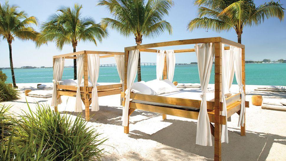 Beach Cabanas Mandarin Oriental Miami