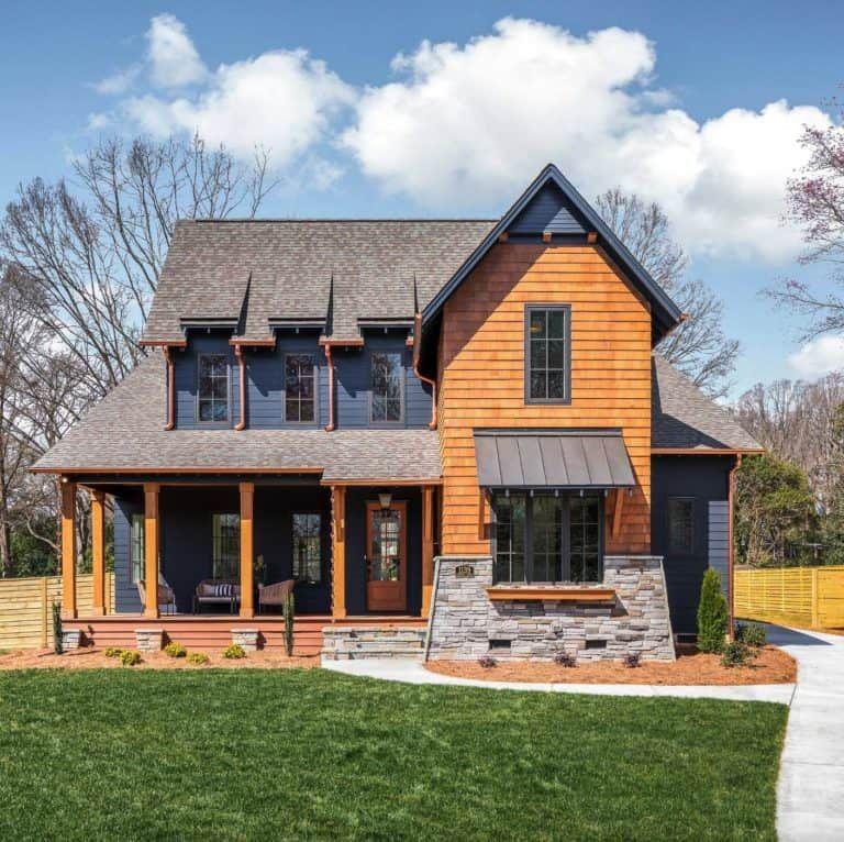 dream house tour a beautiful modern farmhouse in north on beautiful modern farmhouse trending exterior design ideas id=97226