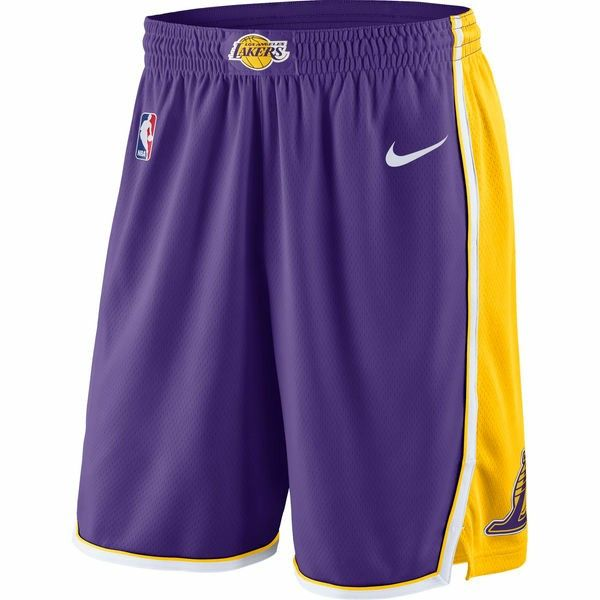 39f3f7f9ef96 Men S Los Angeles Lakers Practice Shorts