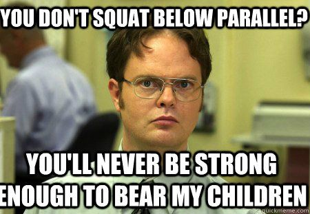 Ah Dwight you're too funny!!