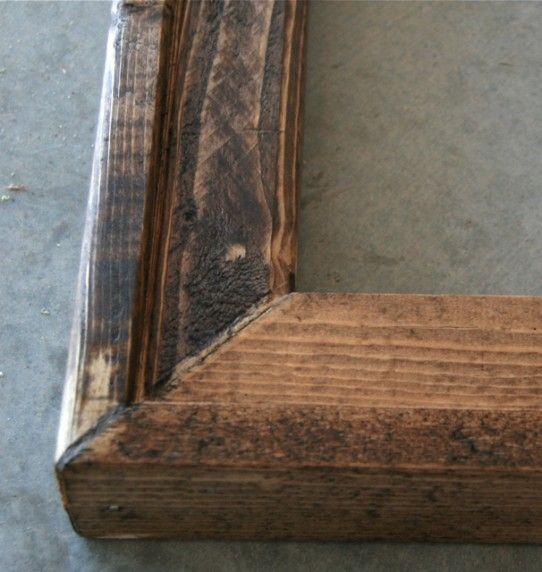 jillian michaels meets ana white bargain barnwood frame - Michaels Custom Framing Prices