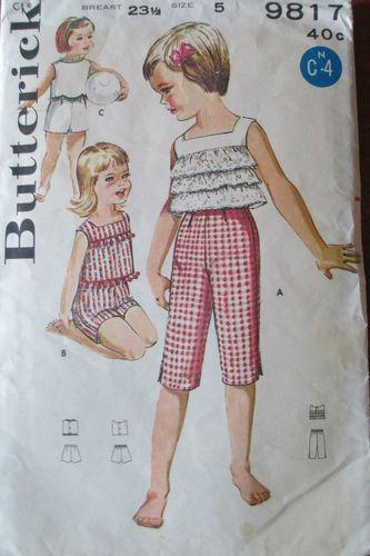 Tammy /& Me Collection 1960/'s #5859 Tammy Doll Dress Pattern
