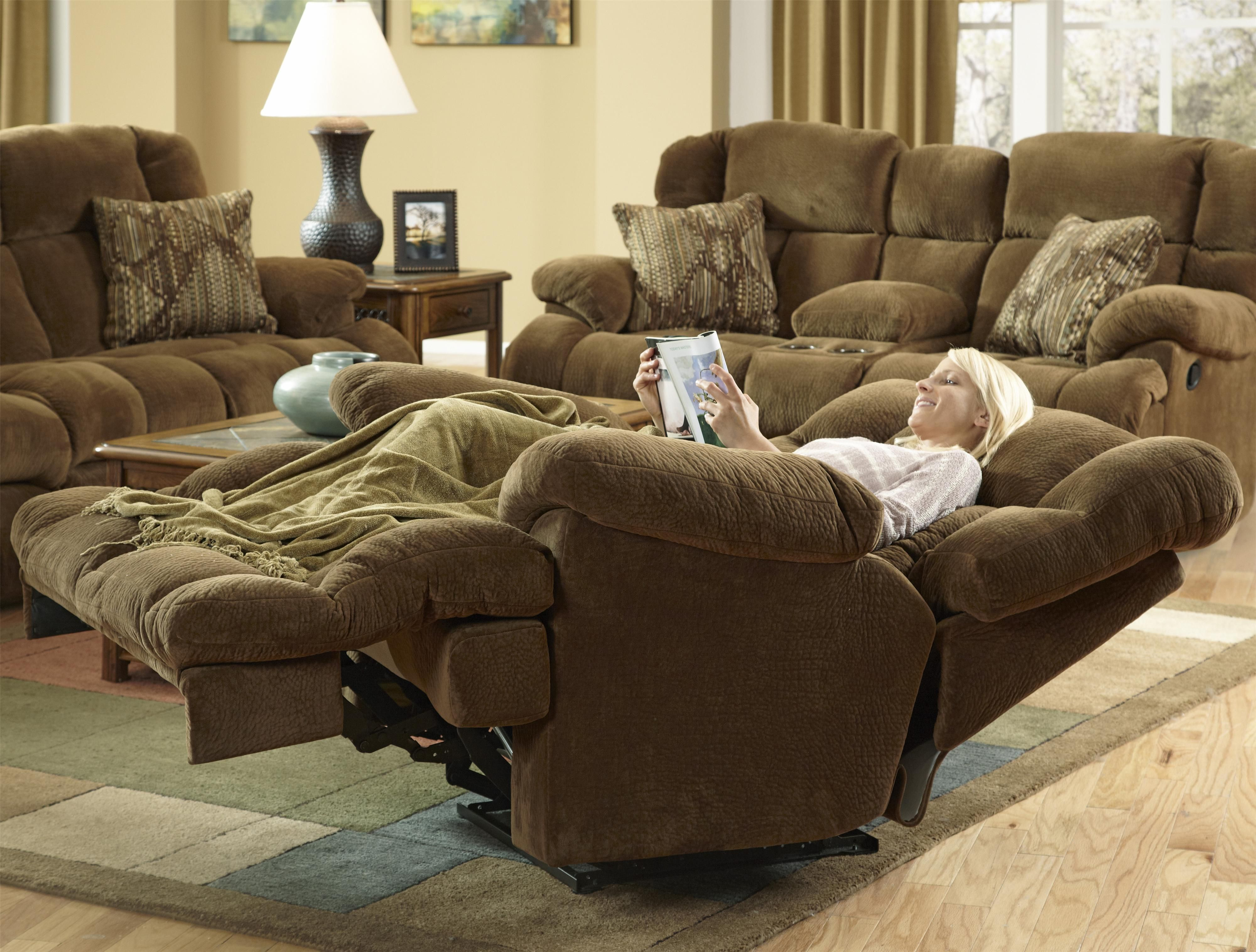 storage flat catnapper reclining carrington greystone loveseat yhst lay cupholders w console