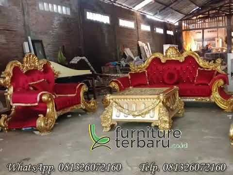 Sofa Tamu Mewah - Sofa Tamu Jepara - Hp/Wa 01326072160 - www.furniturejepara.co.id - YouTube