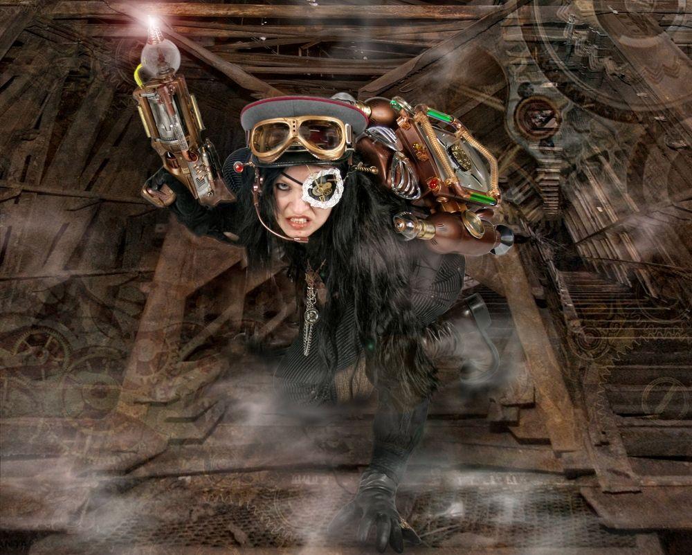 Steampunk II de Sonja Bender black-marilyn