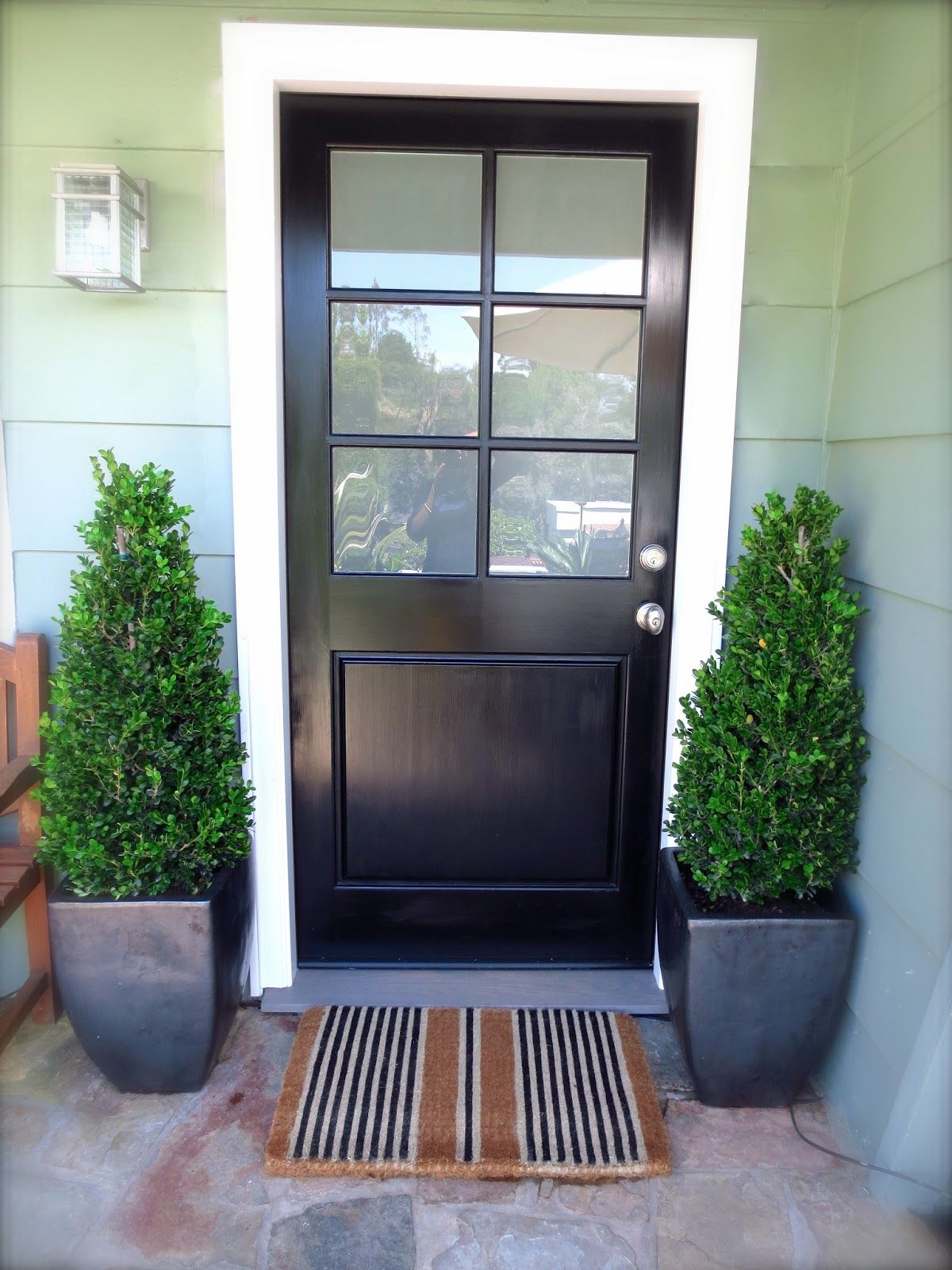 Exterior doors with glass yahoo image search results for Black french doors exterior
