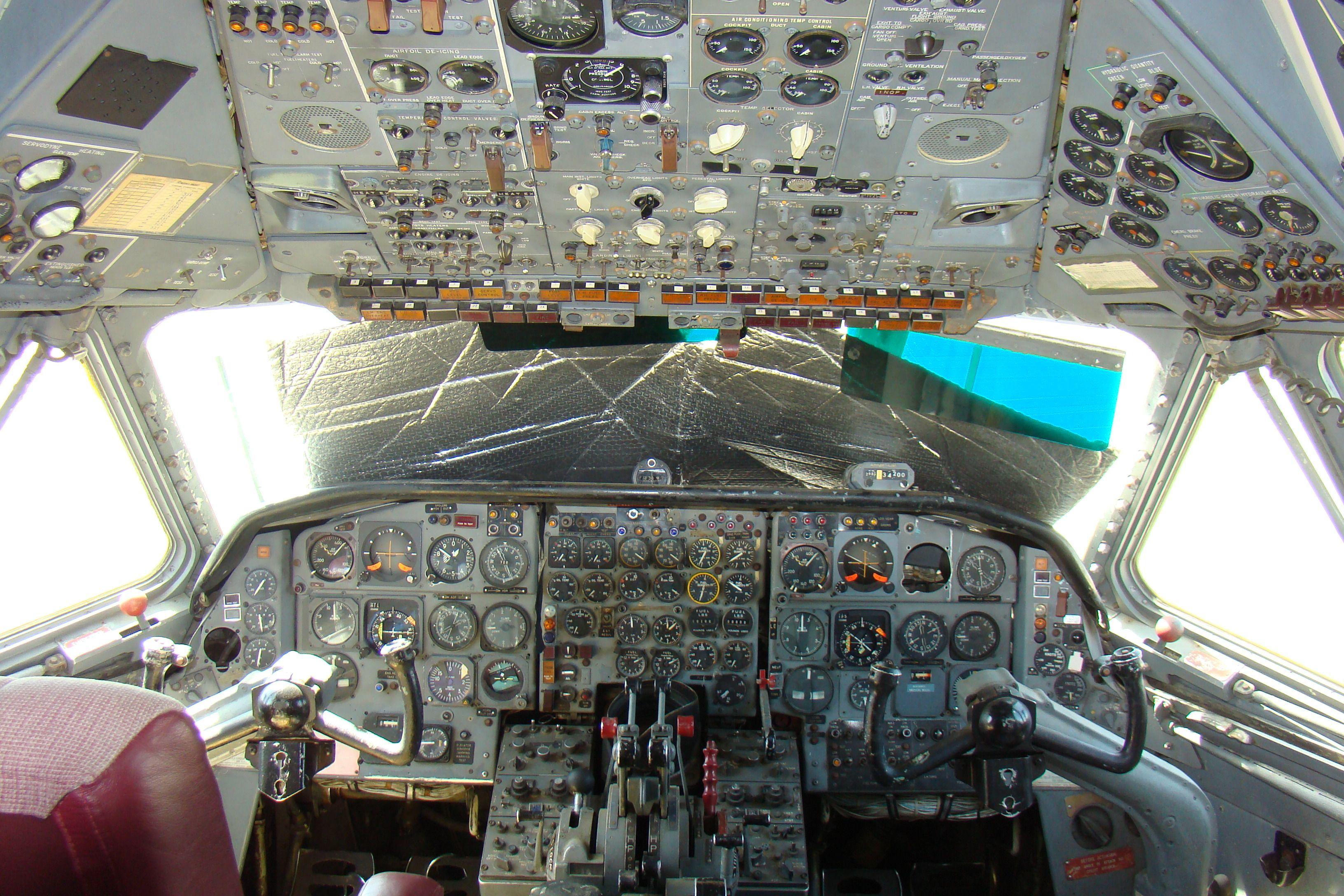 Caravelle Cockpit Aviones