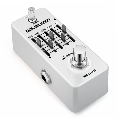 Donner Equalizer Pedal 5-band Graphic EQ Guitar Effect Pedal #guitarpedals
