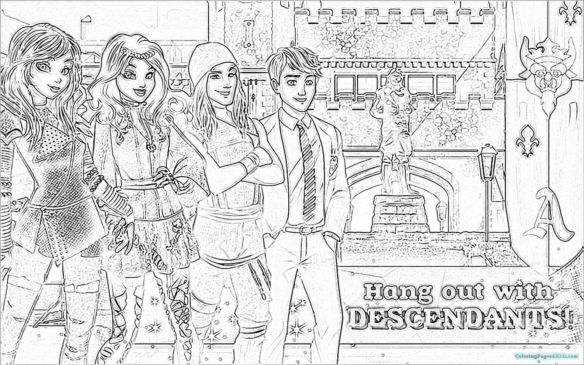Pin On Disney Desendents