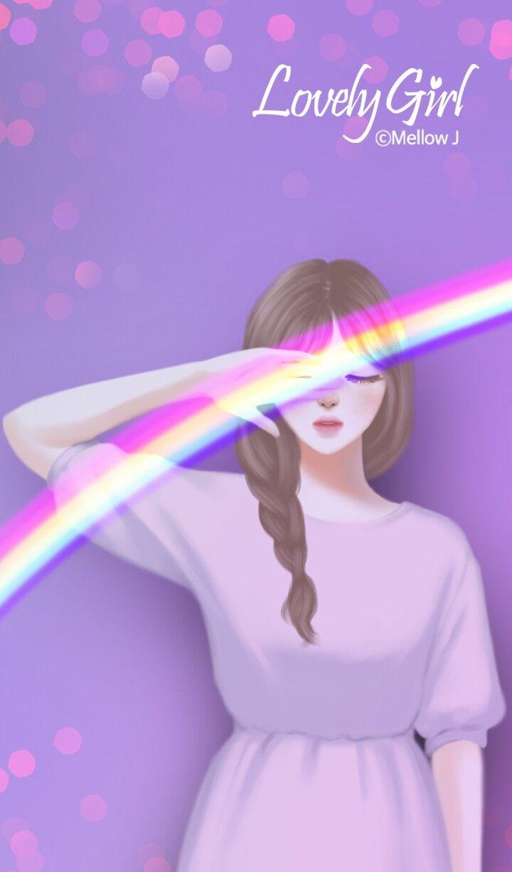 Pin Oleh Ms Attitude Di Anime Art Girl Anime Gadis Cantik Seni