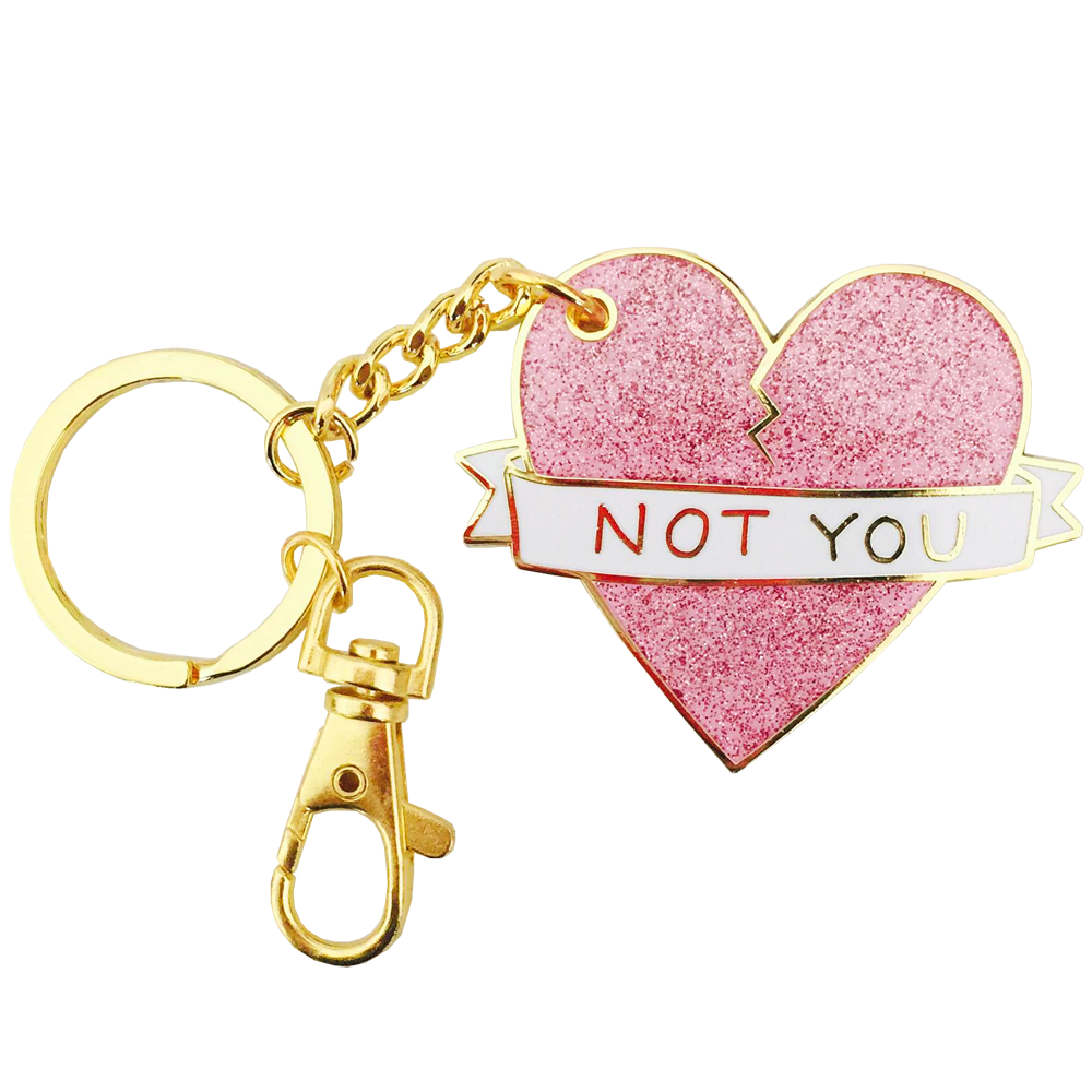 NOT YOU KEYCHAIN | Things I want | Pinterest | Key chains, Jewelry ...