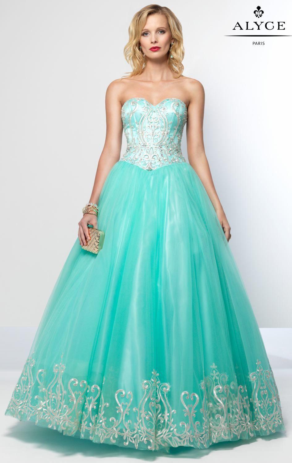 Alyce Paris 6666 | Prom Dresses | Prom Dresses | Pinterest | Prom ...