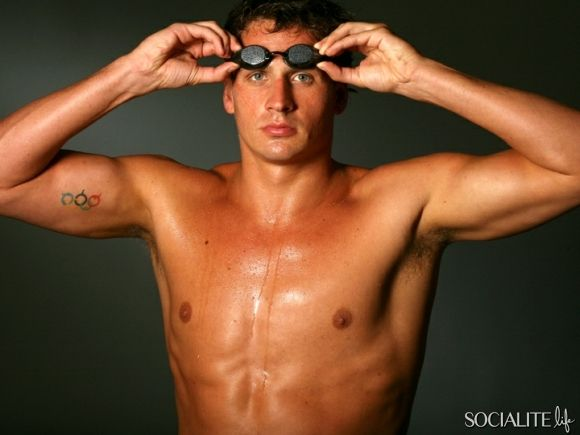 Suddenly I REALLY like watching Olympic swimming! ;-)
