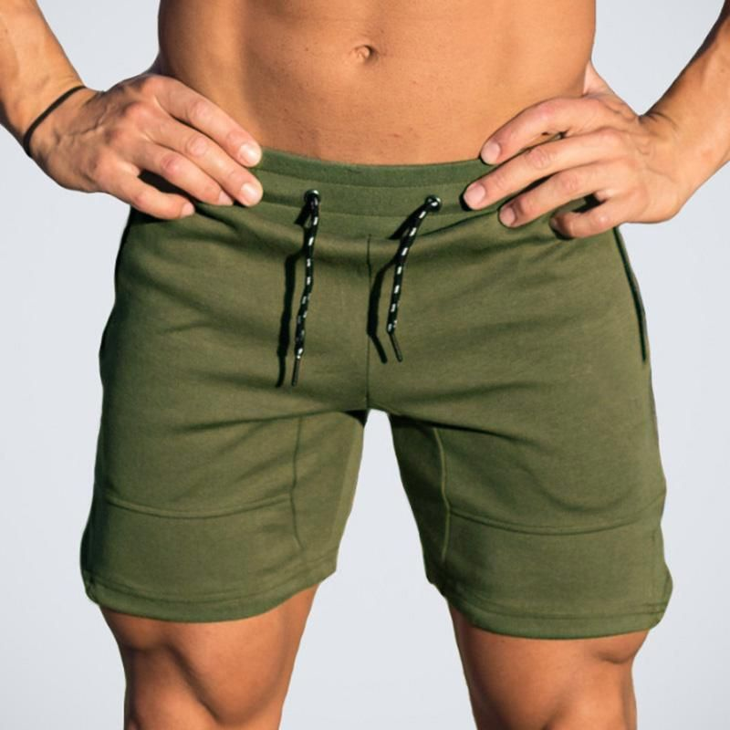 New Men quick-drying pants Silm Fitness Sports Gym Shorts running pants