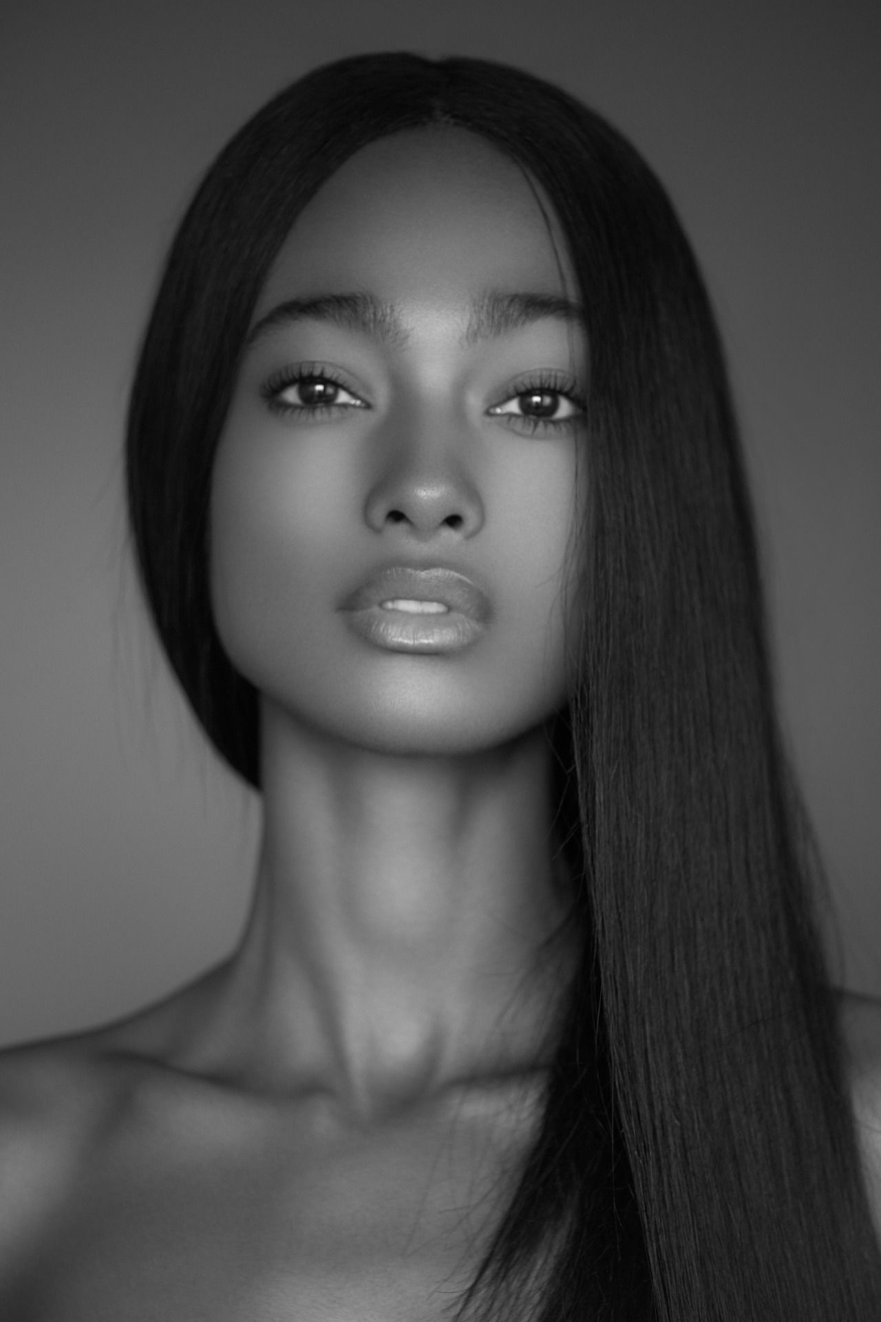 Was specially beautiful black model question interesting