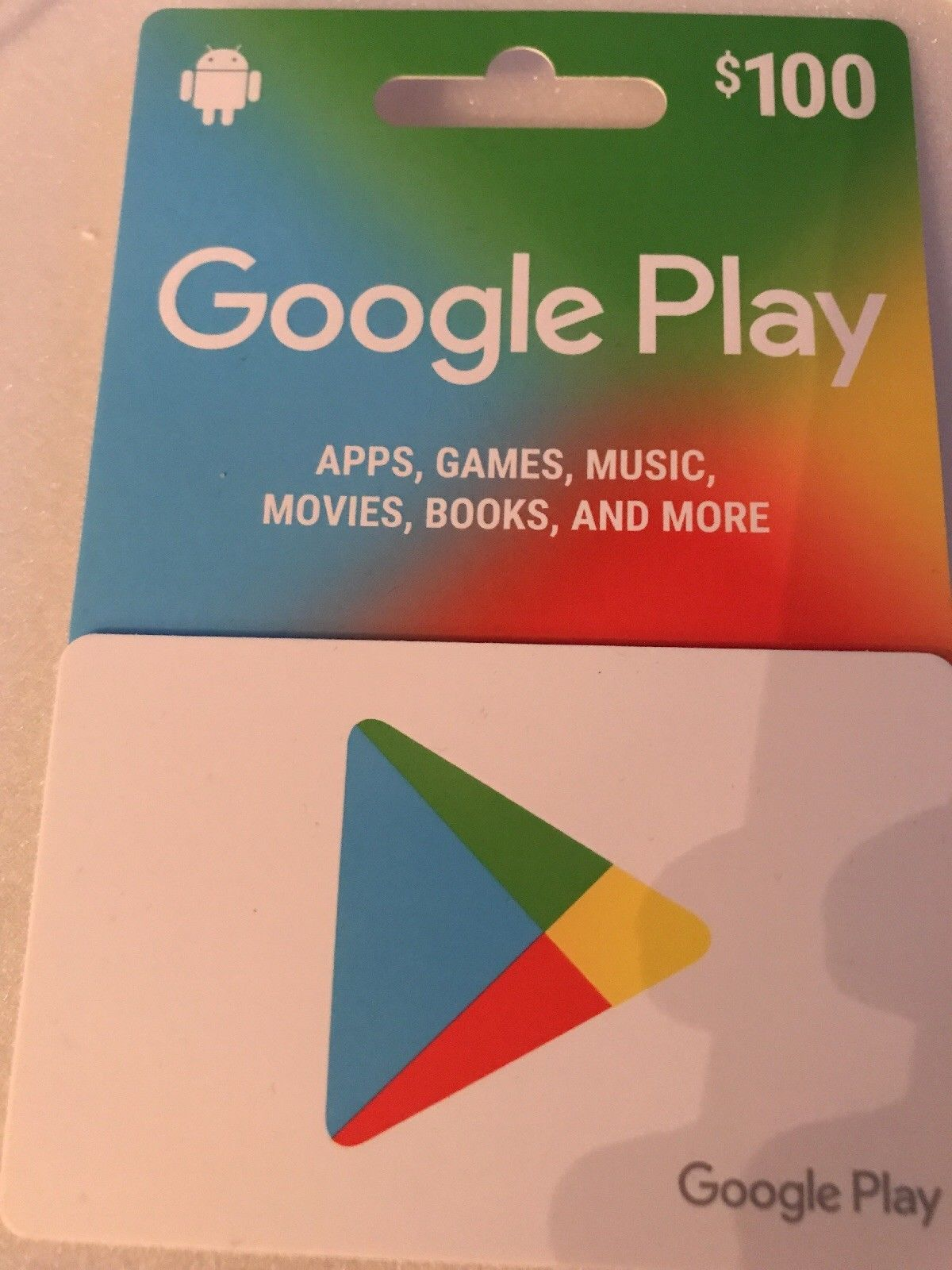 Google Play Gift Card 100 Pai E Filho