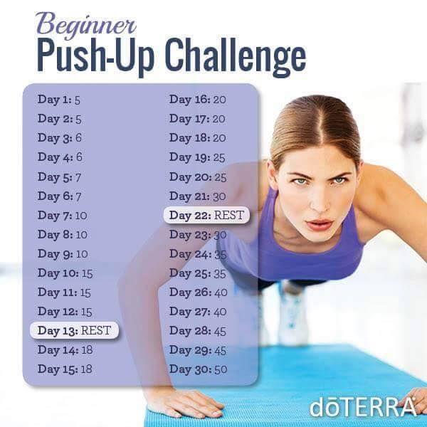 Here's a great push-up challenge to accompany your Slim