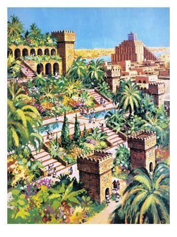 86386db5d273b1176b2c13d4f2889fec - The Hanging Gardens Of Babylon For Kids