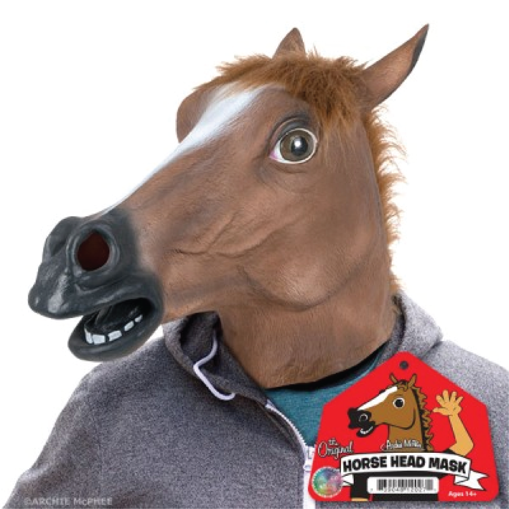The Quirky Creepy Horse Head Mask Horse Mask Horse Head Mask Horse Head
