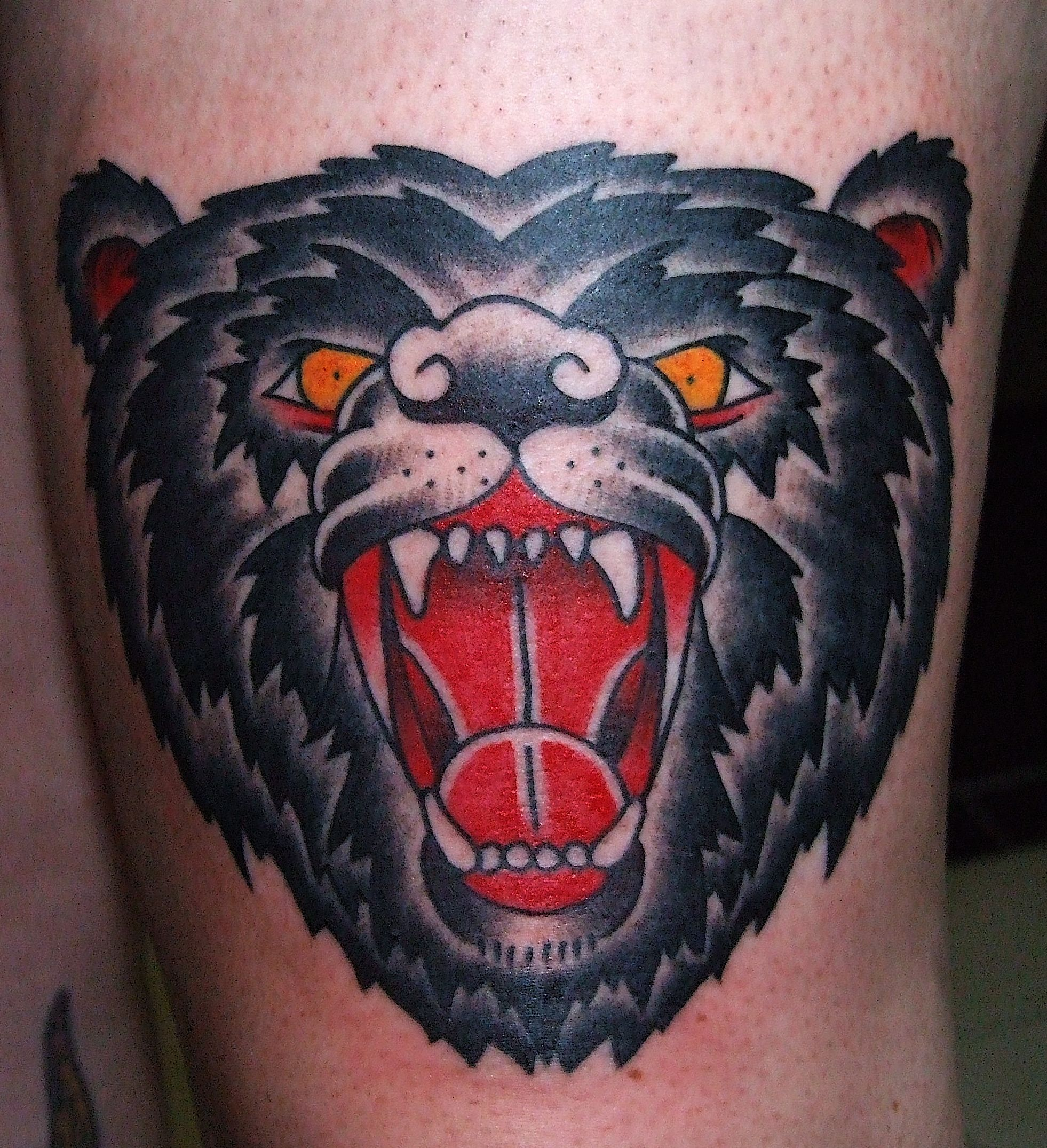 Bear Head - Bear Tattoo photo - 1 | Tattoo ideas ...