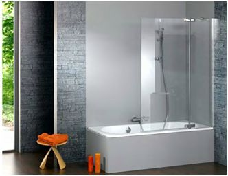 bain douche en vitre salles de bains pinterest. Black Bedroom Furniture Sets. Home Design Ideas