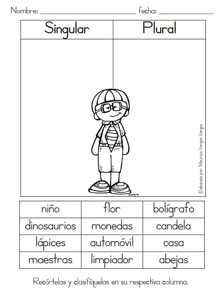 Fichas trabajar conceptos (3) | libro | Pinterest | Concepto, Lengua ...