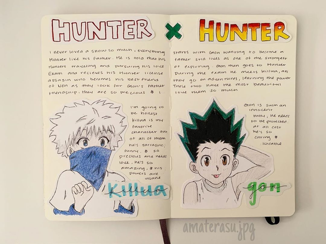 Mi Piace 45 Commenti 0 Anime Journal Ama Terasu Jpg Su Instagram Fav Duo An Anime Book Bullet Journal Themes Bullet Journal Books