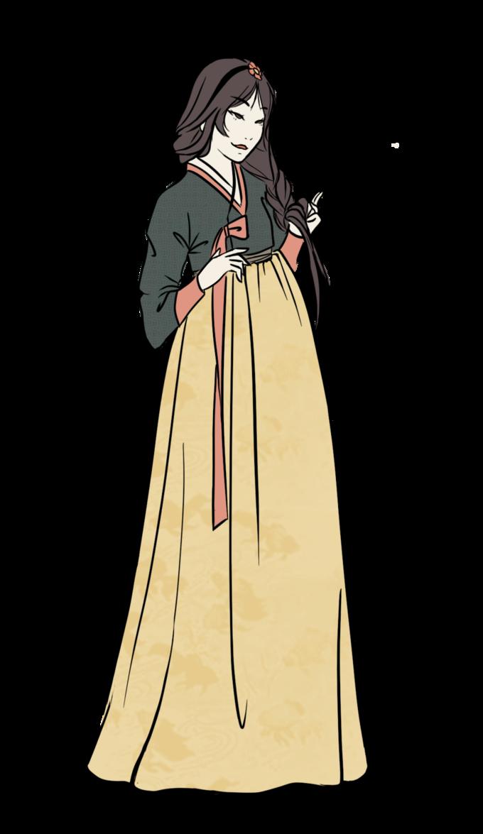 Hanbok illustration | 한복 Hanbok : Korean traditional clothes[dress ...