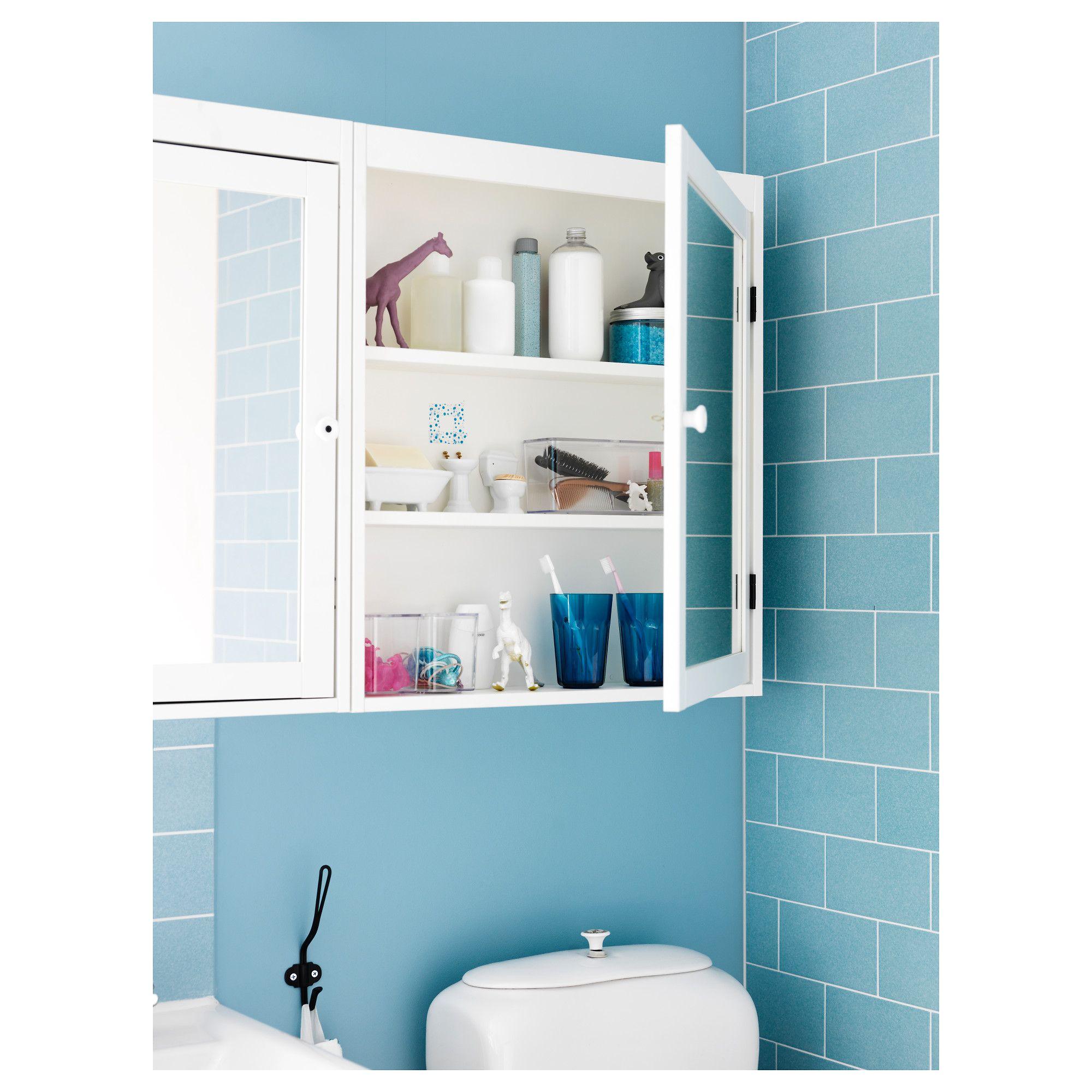 IKEA - SILVERÅN Mirror cabinet white | Mirror cabinets, Bathroom ...