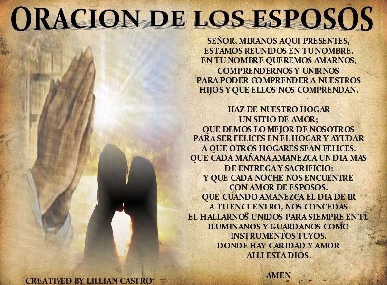 Oracion Del Matrimonio Catolico : Pin de bibianamore en fe pinterest oración