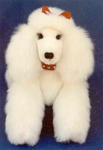 Poodle SEWING PATTERN 12 GINA Jointed Puppy by SpringtimeDesigns ...