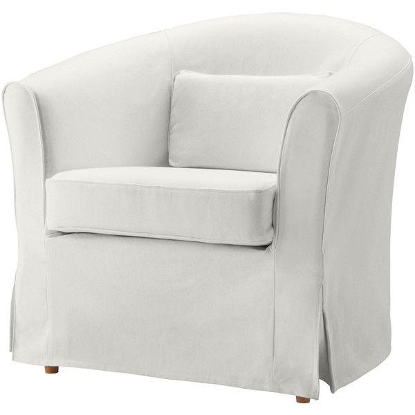 Genial IKEA EKTORP TULLSTA Chair Cover, Blekinge White (1.730 RUB) Via Polyvore  Featuring Home