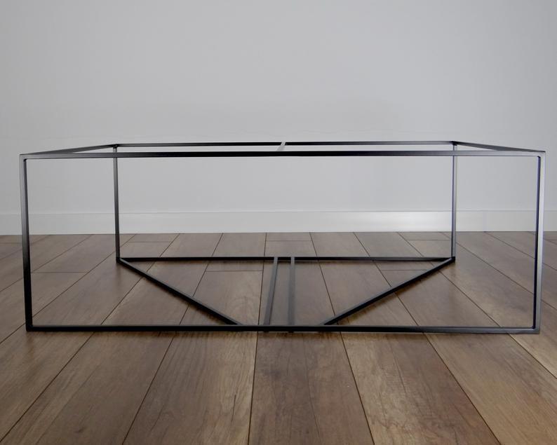 Inka Steel Coffee Table Base 100x60cm Large Modern Coffee Table