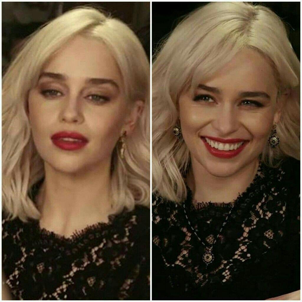Emilia Clarke   Hair beauty, Medium short hair, Beauty