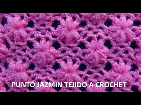punto tejido a crochet 3 para colchitas de bebe points. Black Bedroom Furniture Sets. Home Design Ideas