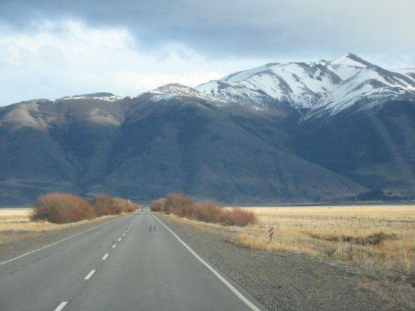 Camino al Glaciar Ventisquero Perito Moreno Santa Cruz ARGENTINA