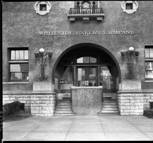 Whiteside Bakery 1400 W Broadway St Louisville Kentucky 1928