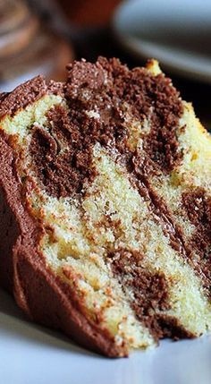 perfect marble cake
