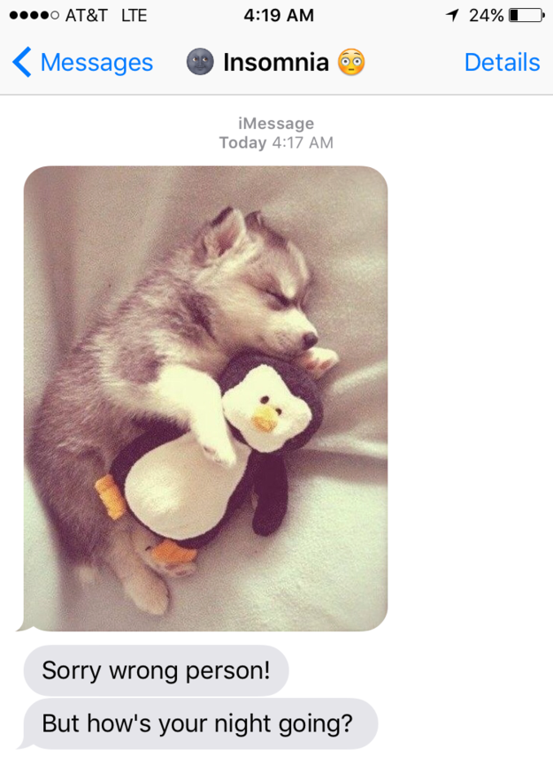 25 Incredibly Rude Texts From Your Insomnia