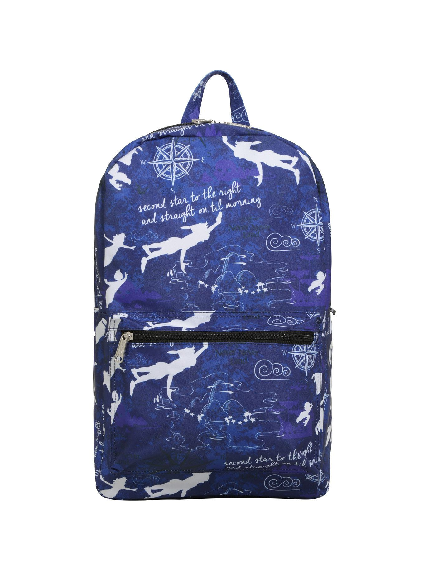 4b35bf3a132 Disney Peter Pan Character Silhouette Backpack