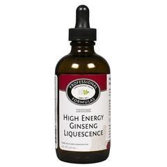 High Energy Ginseng Liquescence 4oz