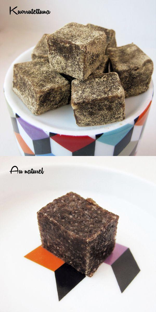 Syötävän hyvä: LAKRITSITOFFEE (RAAKA/GLUTEENITON/VEGAANI/ETC)