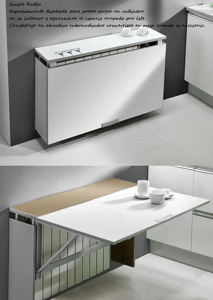 MESAS PLEGABLES O ABATIBLES PARA LA COCINA | Folding tables, Studio ...