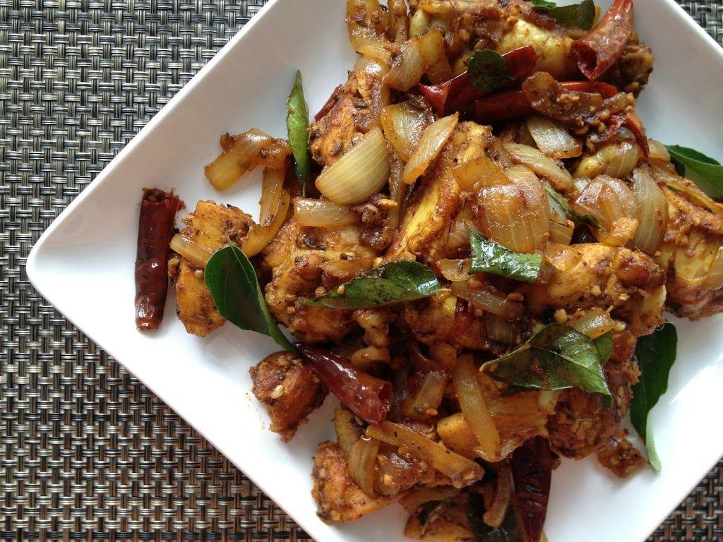 Spicy Dry Fried Chicken Chicken Varuval Recipe Chicken Recipes Chicken Recipes Dry Easy Chicken Recipes