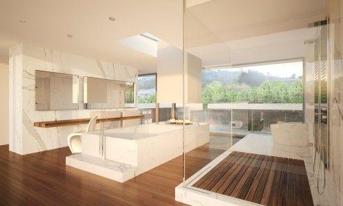 Render y Arquitectura 3D   Infografia 3D de una casa de lujo en Palos Verdes, Los Angeles