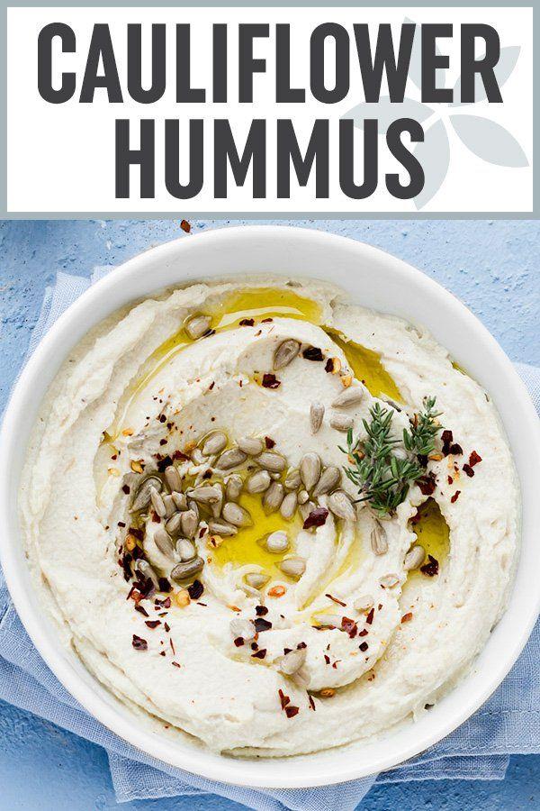 """Roasted Cauliflower """"Hummus"""" images"""