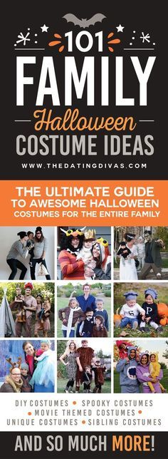 101 of the Best Family Halloween Costumes - From The Dating Divas   Glamour Shots Photography